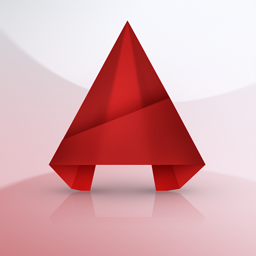 Logo AutoCAD 2015 - 256x256 - 32