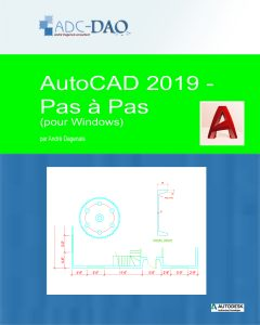 AutoCAD 2019 - Pas à pas (Couverture)